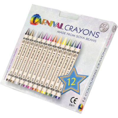 Carnival Crayons - 12 Pack